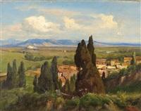 römische campagna by albert arnz