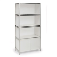storage unit (set of 4) by kartell