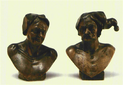 charakterkopf another pair by franz xaver messerschmidt