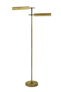 adjustable floor lamp by peter pfisterer