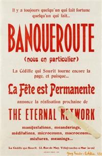 banqueroute (nous en particulier) by george brecht & robert filliou