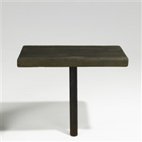 pedestal table by james blaine blunk