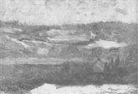 winterliche waldlandschaft by rudolf hoeckner
