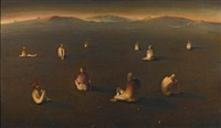 lunatics by odd nerdrum
