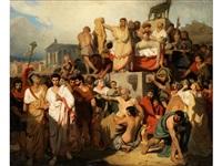 der tod cäsars by angelo comte de courten