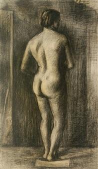 nudo femminile by pietro bugiani