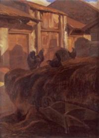 auf dem bauernhof by john pierre simonet