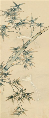 flower and bird by xu zhen