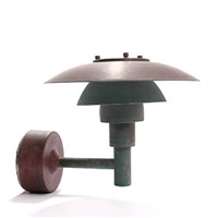 ph 3-2½ outdoor wall lamp by poul henningsen