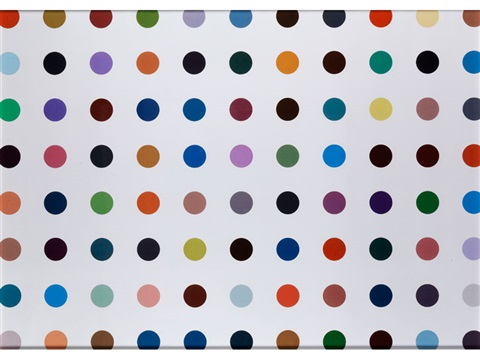 nucleohistone by damien hirst