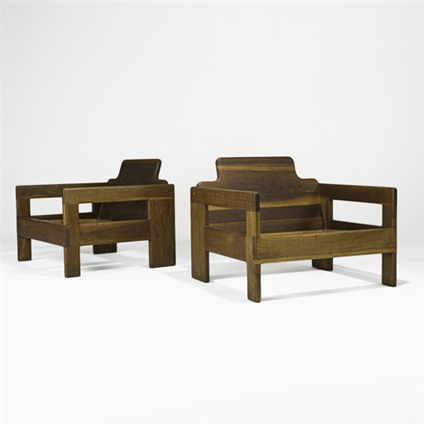 club chair frames pair by arthur espenet carpenter