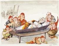 schneewittchen (ddr) und die sieben zwerge by hans reiser