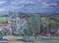 paysage de l'ile de france (saint cyr sous dourdan) by stéphane sciortino