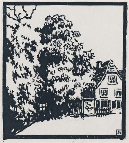 kastanienbaum by fritz bleyl