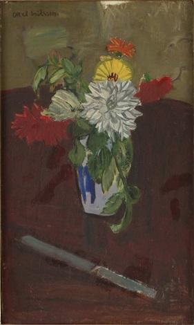 blomsterstilleben by axel nilsson