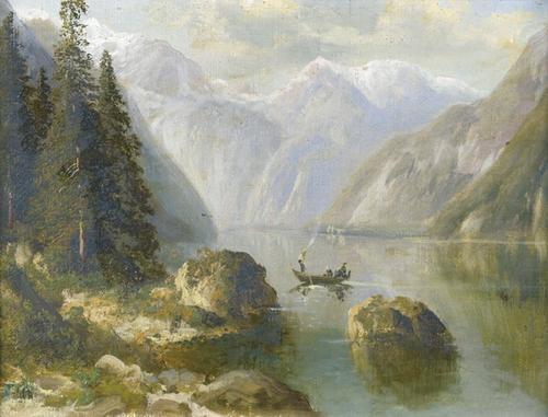 königssee bei berchtesgaden by alois toldt