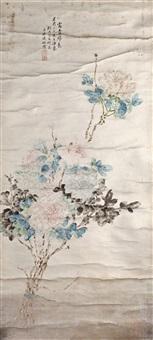花卉 by liang huanchu