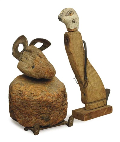 otter (+ mouse; 2 works) by adele earnest