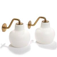 wall lamps (model 32561) (pair) by vilhelm lauritzen