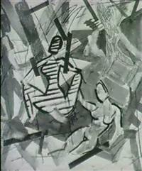ohne titel (figurenbild) by stefan szcezesny