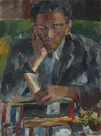 portrait von paul laporte by manfred henninger