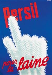 persil pour la laine (poster) by fritz buhler