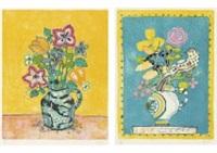 cora pink tulip (+ 3 others; 4 works) by paul aïzpiri