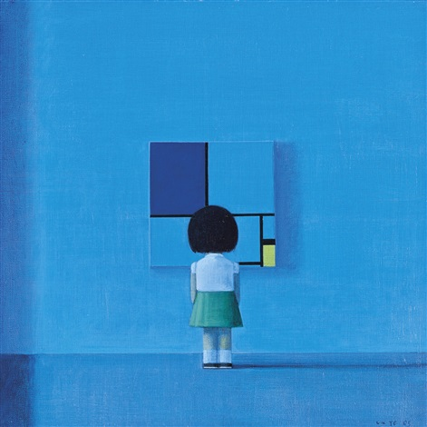 composition with moonlight by liu ye
