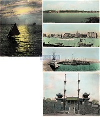 烟台、青岛、上海等地风景相册 (76张) (album of yantai, qingtao, shanghai & etc.) (album of 76, various sizes) by ah-fung studio