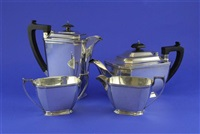 tea set (set of 4) by george howson