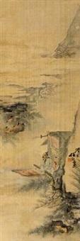 月夜泛舟 by ren xiong