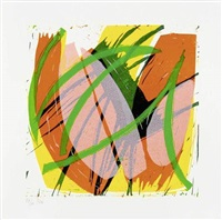 farbpoesie im jahreszyklus (portfolio of 12) by roberto lauro