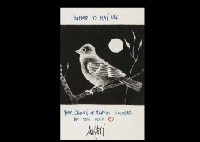 birds in the moon night (+ 2 others; 3 works) by mario avati