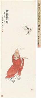 佛寿长春 (the buddha) by huang danru