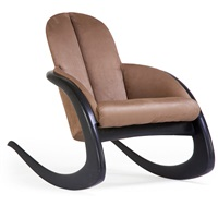 crescent rocking chair by wendell castle
