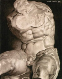 study of the belvedere torso by andré leroux