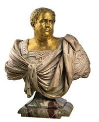büste kaiser aulus vitellius by nicholas (il franciosino) cordier