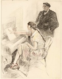 am klavier by hans rudolf pfeiffer
