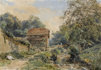 moulin à chexbres by charles jones way