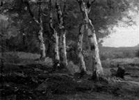 birkenwäldchen im spätsommer by frits mondriaan