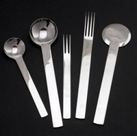 flatware service (set of 40) by tsubame-shinko (co.)