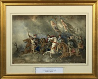 charles ii and his court returning from france by maria l. angus