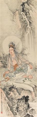 观音大士 the guanyin bodhisattva by ma dai