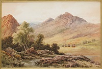 glen nevis, inverness-shire by henry decon hillier