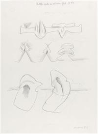 die elfen spielen wie aus einem guß (f. m) by maria lassnig