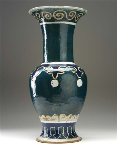 Baluster Vase By Michael And Magdalena Frimkess On Artnet