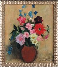 nature morte aux fleurs by juliette cambier