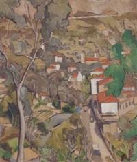 provençal village by gerald reitlinger