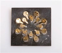 square brooch by bent & helga exner