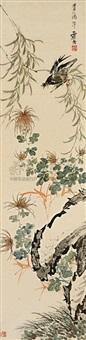 bird and flower by sesshu toyo